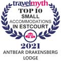 Top 10 small accommodations award from travel myth 2021