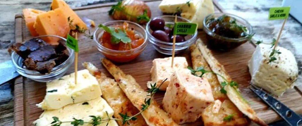 Drakensberg cheese tasting