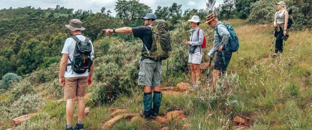 Drakensberg hiking at antbear lodge