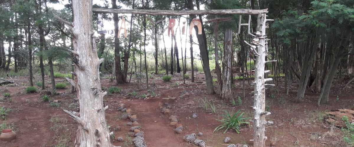 Antbear Lodge Labyrinth