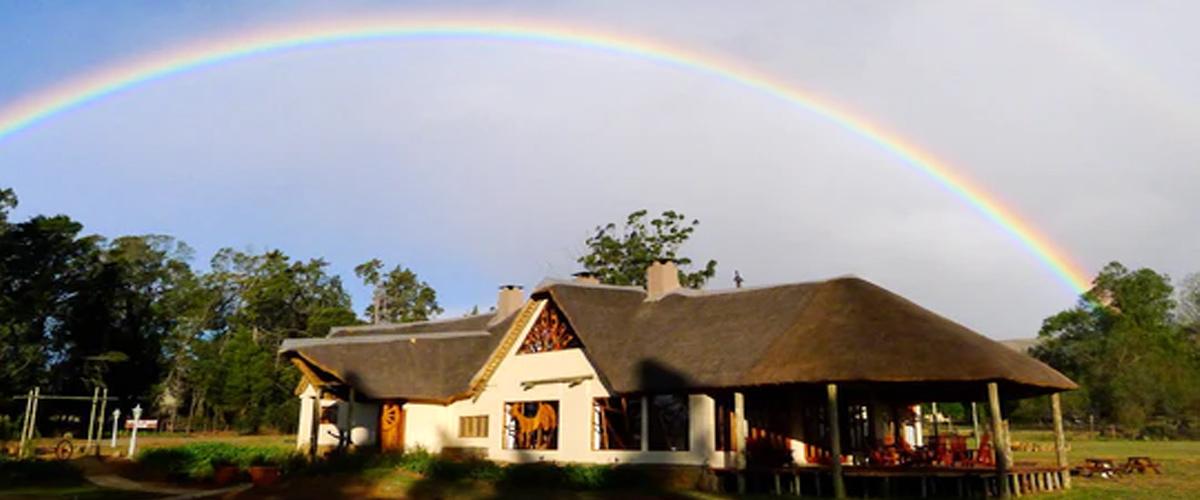 Antbear Lodge rainbow