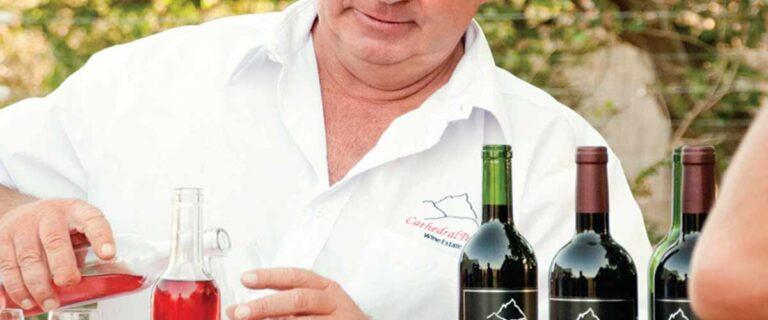 Drakensberg wine tasting at Cathedral Peak wine estate