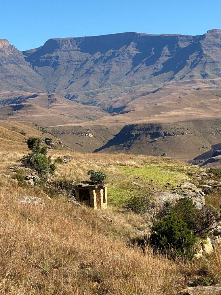 Giants Castle - Lamergeyer vulture hide